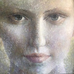 3-5-17-2 - 21st Century, Contemporary, Portrait Painting, Oil, Canvas, Spiritual