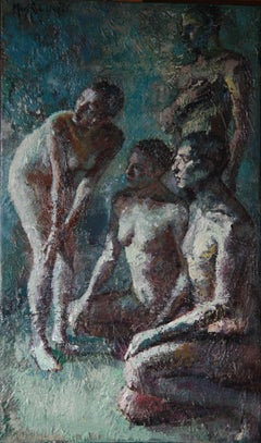 3-9-08 - 21st Century, Contemporary, Nude Painting, Oil on Canvas