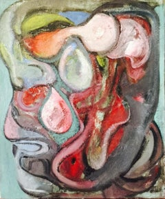 35-5-12 - 21st Century, Contemporary, Abstract Painting, Oil on Canvas