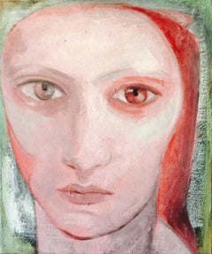 37-6-12 - 21st Century, Contemporary, Portrait Painting, Oil on Canvas