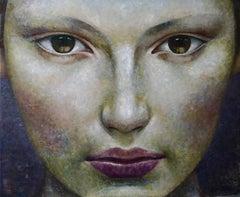 4-1-17 - 21st Century, Contemporary, Portrait Painting, Oil on Canvas