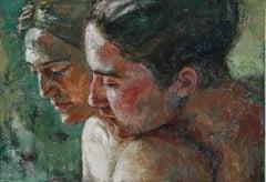 4-10-08 - 21st Century, Contemporary, Portrait Painting, Oil on Canvas