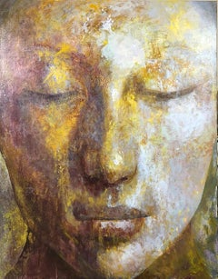 4-3-20 - 21st Century, Contemporary, Portrait Painting, Oil on Canvas, Spiritual