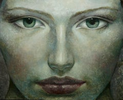 4-8-17 - 21st Century, Contemporary, Portrait Painting, Oil on Canvas