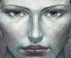 4-8-17 - 21st Century, Contemporary, Portrait Painting, Oil on Canvas, Spiritual
