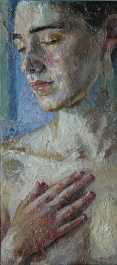 4-9-09 - 21st Century, Contemporary, Nude Painting, Oil on Canvas