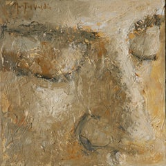 46A n.8 - 21st Century, Contemporary, Portrait Painting, Oil on Canvas