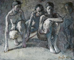 5-11-11 - 21st Century, Contemporary, Nude Painting, Oil on Canvas