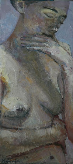 5-2-10 - 21st Century, Contemporary, Nude Painting, Oil on Canvas