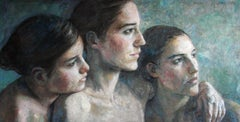 6-1-12 - 21st Century, Contemporary, Portraits, Nude Painting, Oil on Canvas