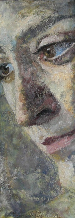 6-10-7 - 21st Century, Contemporary, Portrait Painting, Oil on Canvas
