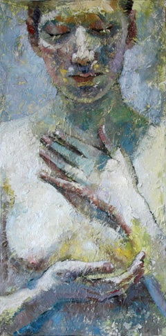 6-4-11 - 21st Century, Contemporary, Nude Painting, Oil on Canvas