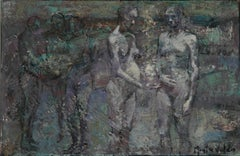 6-9-08 - 21st Century, Contemporary, Nude Painting, Oil on Canvas