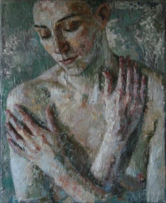 6-9-111 - 21st Century, Contemporary, Nude Painting, Oil on Canvas