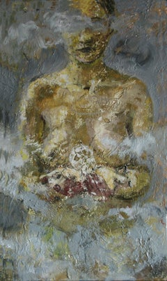 7-11-04b - 21st Century, Contemporary, Nude Painting, Oil on Canvas