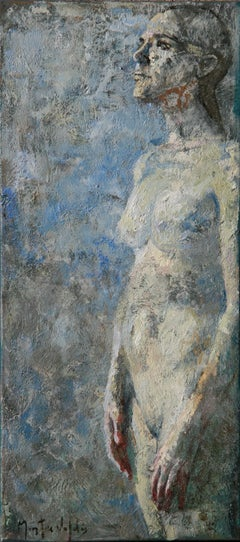 7-11-08 - 21st Century, Contemporary, Nude Painting, Oil on Canvas