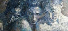 7-11-08 - 21st Century, Contemporary, Portrait Painting, Oil on Canvas