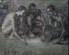 7-11-11 - 21st Century, Contemporary, Nude Painting, Oil on Canvas