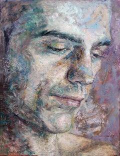7-3-08 - 21st Century, Contemporary, Portrait Painting, Oil on Canvas