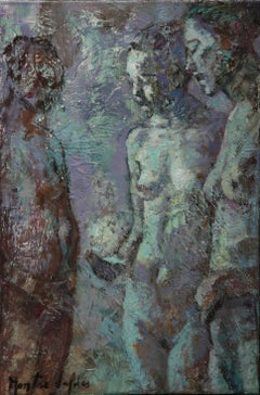 7-9-08 - 21st Century, Contemporary, Nude Painting, Oil on Canvas