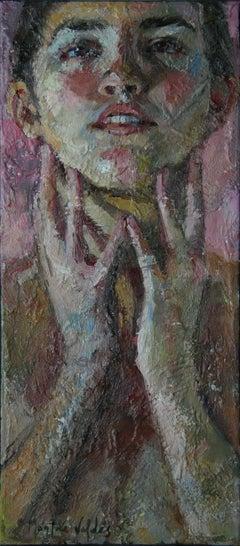 7-9-09 - 21st Century, Contemporary, Portrait Painting, Oil on Canvas
