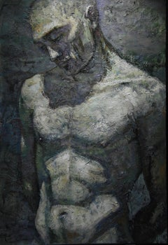 8-4-08 - 21st Century, Contemporary, Nude Painting, Oil on Canvas