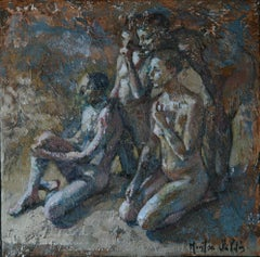 8-9-08 - 21st Century, Contemporary, Nude Painting, Oil on Canvas
