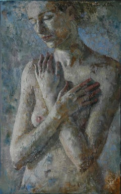 9-2-10 - 21st Century, Contemporary, Nude Painting, Oil on Canvas