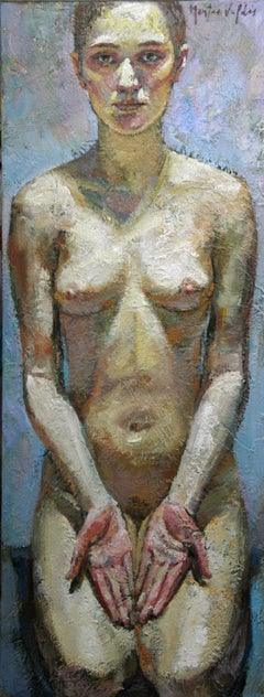 9-4-9 - 21st Century, Contemporary, Nude Painting, Oil on Canvas