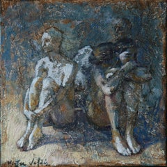 9-9-08 - 21st Century, Contemporary, Nude Painting, Oil on Canvas