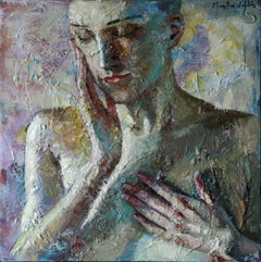 9-9-111 - 21st Century, Contemporary, Nude Painting, Oil on Canvas