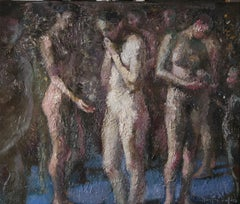 A2-11-07 - 21st Century, Contemporary, Nude Painting, Oil on Canvas