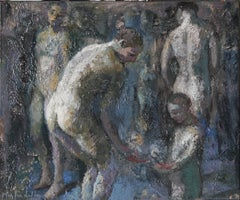 A3-11-07 - 21st Century, Contemporary, Nude Painting, Oil on Canvas