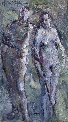 nº 04-086 - 21st Century, Contemporary, Nude Painting, Oil on Canvas