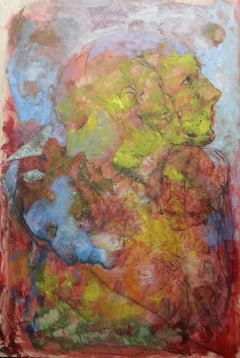 nº 4b-15 - 21st Century, Contemporary, Portrait Painting, Oil on Canvas
