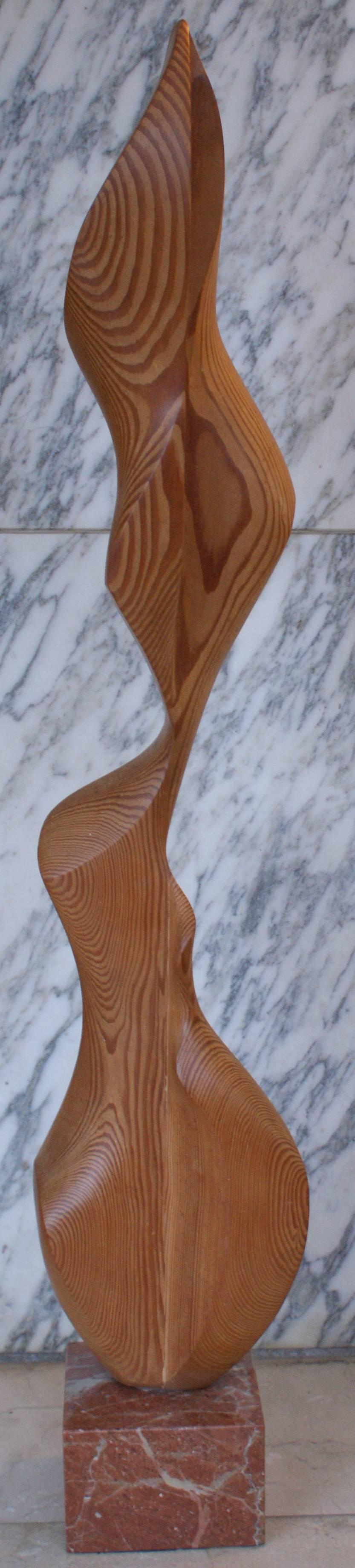 WOMAN- original wood sculpture