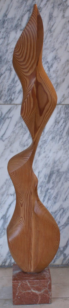 WOMAN- original wood sculpture