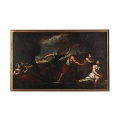 Monumental 17th Century Old Master Allegorical Scene