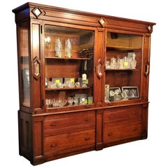 Monumental 19th Century Display Cabinet from South Dakota