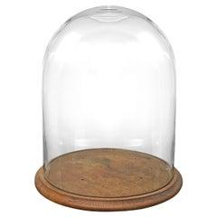 Monumental 19th Century American Glass Cloche