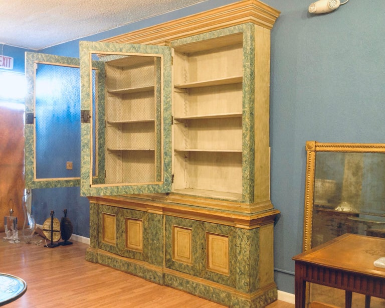 Monumental 19th Century Biblioteque For Sale 5