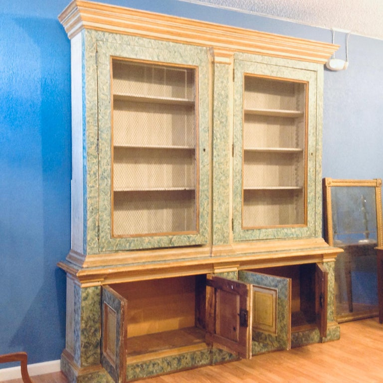 Monumental 19th Century Biblioteque For Sale 8