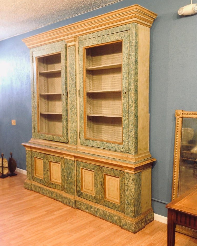 Monumental 19th Century Biblioteque For Sale 1