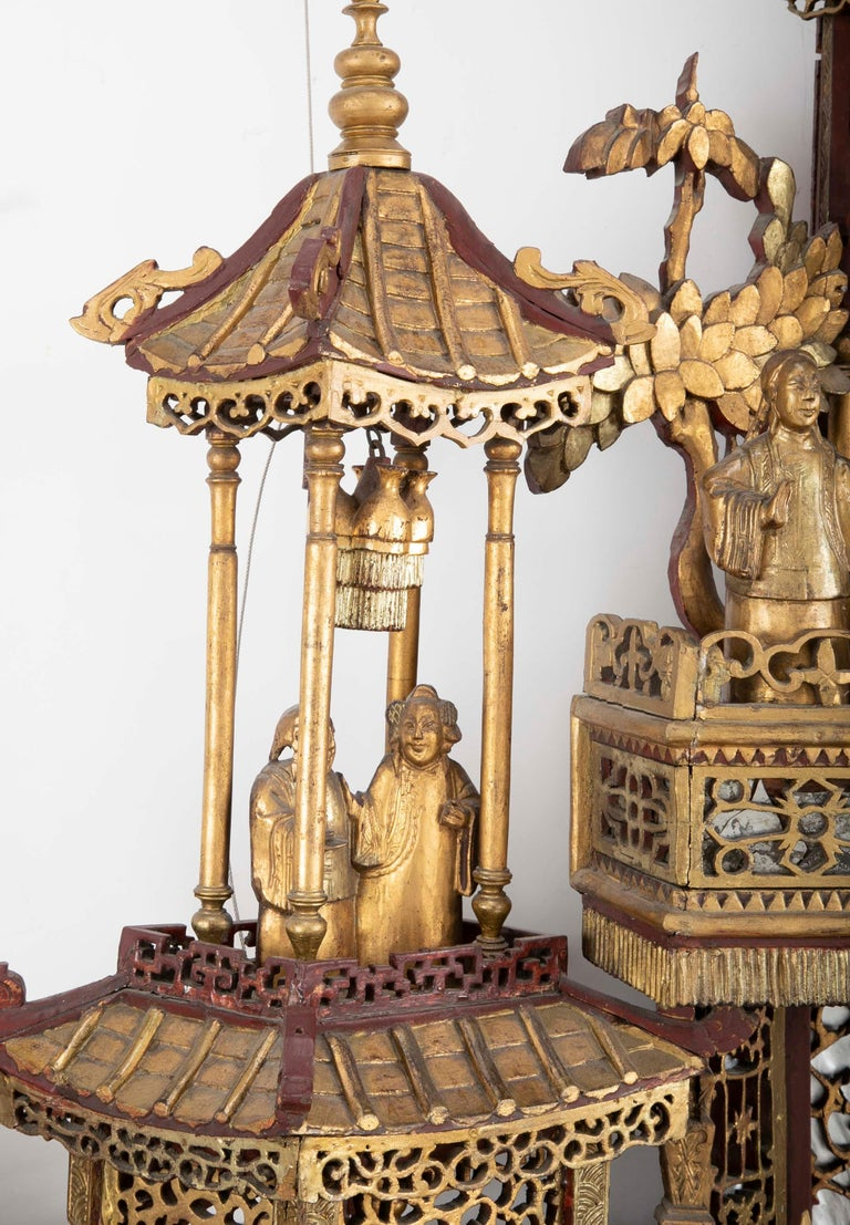Monumental 19th Century Chinese Altar Piece For Sale 4
