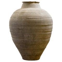 Monumental 19th Century Olive / Storage Jar