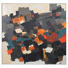 Monumental Abstract Painting by William Hegelheimer