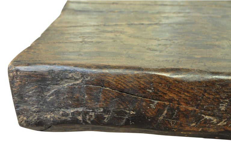 Monumental and Very Rare Pair of 16th Century Spanish Castle Tables For Sale 7
