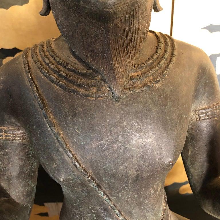 Monumental Antique Bronze
