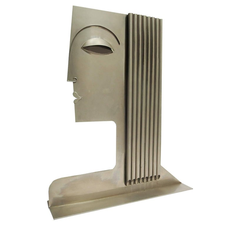 Monumental Art Deco Sculpture by Franz Hagenauer For Sale