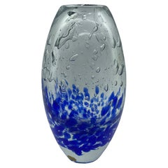 Monumental Art Glass Vase by Bohemia Glass, Czechoslovakia, Vintage